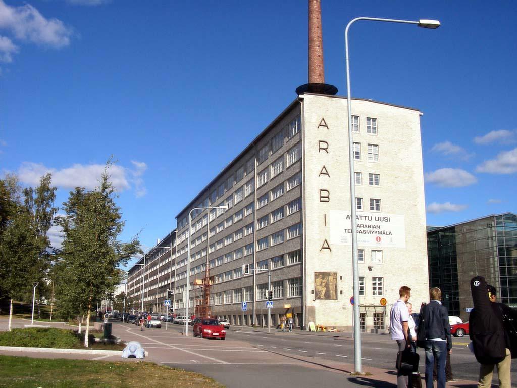 ヘルシンキ芸術デザイ元アラビア製陶のビル